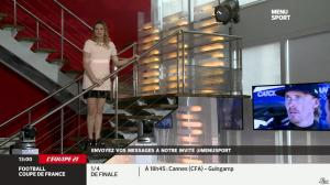 France Pierron dans Menu Sport - 26/03/14 - 03