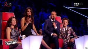 Jenifer Bartoli et Karine Ferri dans The Voice - 05/04/14 - 22