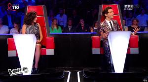 Jenifer Bartoli dans The Voice - 05/04/14 - 12