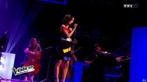 Jenifer Bartoli dans The Voice - 08/03/14 - 08