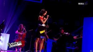 Jenifer Bartoli dans The Voice - 08/03/14 - 08