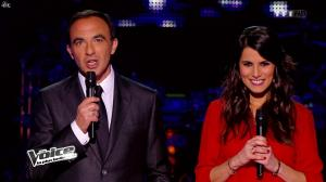 Karine Ferri dans The Voice - 22/03/14 - 04