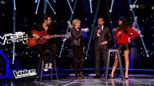 Karine Ferri dans The Voice - 22/03/14 - 06