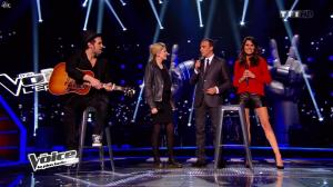 Karine Ferri dans The Voice - 22/03/14 - 09
