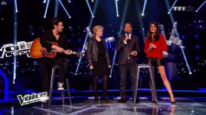 Karine Ferri dans The Voice - 22/03/14 - 10