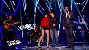 Karine Ferri dans The Voice - 29/03/14 - 03
