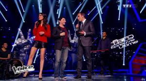 Karine Ferri dans The Voice - 29/03/14 - 04