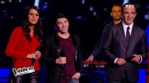 Karine Ferri dans The Voice - 29/03/14 - 05