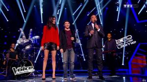 Karine Ferri dans The Voice - 29/03/14 - 06