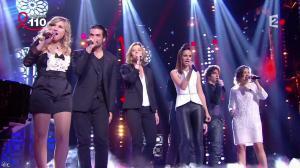 Mélissa Mars dans la télé Chante Pour le Sidaction - 05/04/14 - 02