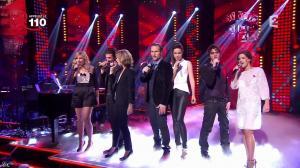 Mélissa Mars dans la télé Chante Pour le Sidaction - 05/04/14 - 05