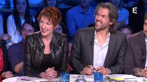 Natacha Polony dans On n'est pas Couché - 22/03/14 - 04