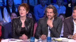 Natacha Polony dans On n'est pas Couché - 22/03/14 - 07