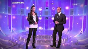 Sandrine Quétier dans 50 Minutes Inside - 02/01/10 - 03