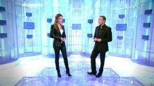 Sandrine Quétier dans 50 Minutes Inside - 09/10/10 - 02