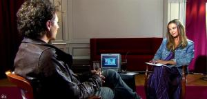 Sandrine Quétier dans 50 Minutes Inside - 25/09/10 - 13