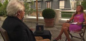 Sandrine Quétier dans 50 Minutes Inside - 28/08/10 - 11