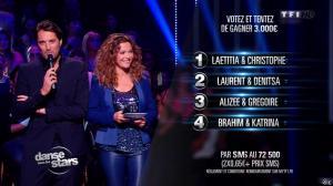 Sandrine Quétier dans Danse avec les Stars - 26/10/13 - 09