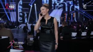 Sandrine Quétier dans la télé Chante Pour le Sidaction - 05/04/14 - 04