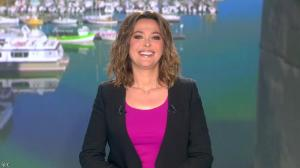 Sandrine Quétier lors du Tirage du Loto - 07/04/14 - 01