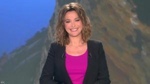 Sandrine Quétier lors du Tirage du Loto - 07/04/14 - 04