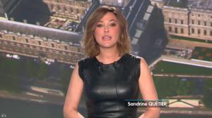 Sandrine Quétier lors du Tirage du Loto - 09/04/14 - 01