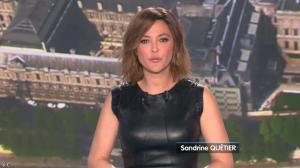 Sandrine Quétier lors du Tirage du Loto - 09/04/14 - 03
