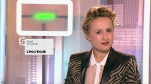 Caroline Roux dans C Politique - 22/02/15 - 01