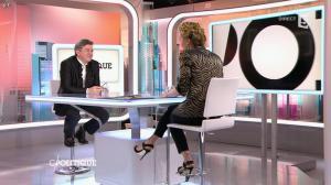 Caroline Roux dans C Politique - 22/02/15 - 06
