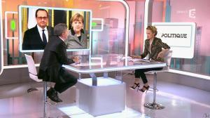 Caroline Roux dans C Politique - 22/02/15 - 10