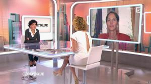 Caroline Roux et Rachida Dati dans C Politique - 08/03/15 - 06