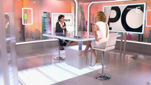 Caroline Roux et Rachida Dati dans C Politique - 08/03/15 - 08