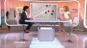 Caroline Roux et Rachida Dati dans C Politique - 08/03/15 - 15