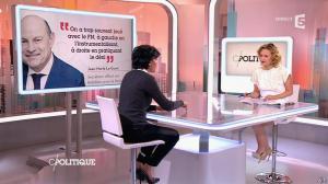 Caroline Roux et Rachida Dati dans C Politique - 08/03/15 - 16