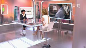 Caroline Roux et Rachida Dati dans C Politique - 08/03/15 - 20