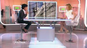 Caroline Roux et Rachida Dati dans C Politique - 08/03/15 - 21