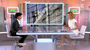 Caroline Roux et Rachida Dati dans C Politique - 08/03/15 - 22
