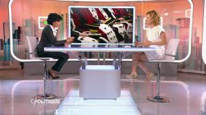 Caroline Roux et Rachida Dati dans C Politique - 08/03/15 - 23