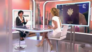 Caroline Roux et Rachida Dati dans C Politique - 08/03/15 - 25