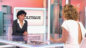 Caroline Roux et Rachida Dati dans C Politique - 08/03/15 - 31