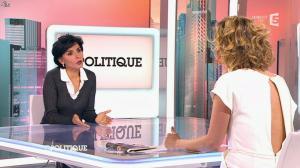 Caroline Roux et Rachida Dati dans C Politique - 08/03/15 - 32