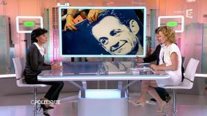 Caroline Roux et Rachida Dati dans C Politique - 08/03/15 - 33