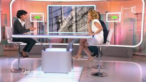 Caroline Roux et Rachida Dati dans C Politique - 08/03/15 - 35