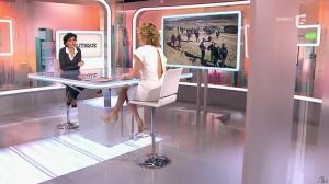 Caroline Roux et Rachida Dati dans C Politique - 08/03/15 - 36