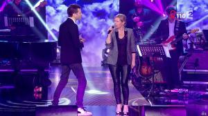 Elisabeth Lemoine dans la télé Chante pour le Sidaction - 28/03/15 - 01