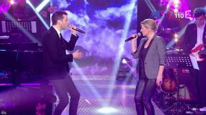Elisabeth Lemoine dans la Télé Chante pour le Sidaction - 28/03/15 - 02