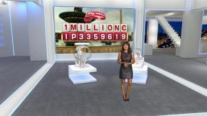 Estelle Denis dans Euro Millions - 06/03/15 - 09
