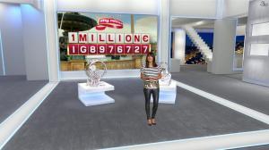 Estelle Denis dans Euro Millions - 17/04/15 - 05