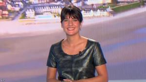 Estelle Denis lors du Tirage du Loto - 18/04/15 - 01