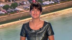 Estelle Denis lors du Tirage du Loto - 18/04/15 - 04